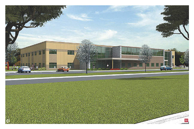 Rendering of New PACT Building in Ramsey